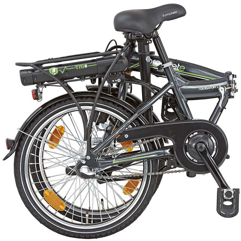 prophete navigator 1 2 e bike alu faltrad 20 zoll. Black Bedroom Furniture Sets. Home Design Ideas