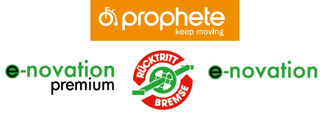 Prophete City E-Bike Mittelmotor enovation und enovation premium