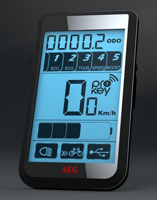 Multifunktionsdispplay AEG eBike