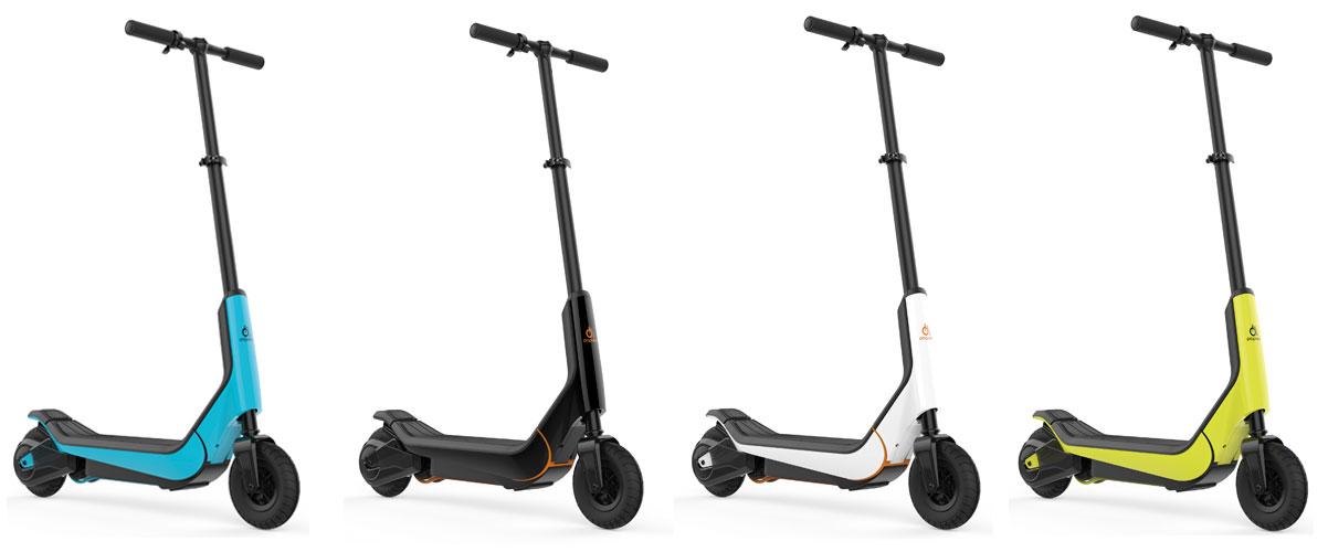 Prophete escooter in verschiedenen Farben