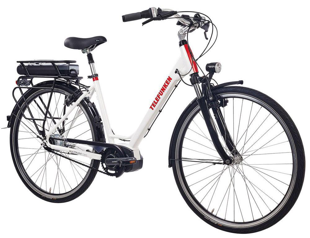 E-Bike mit Shimano Steps Motor Telefunken C900