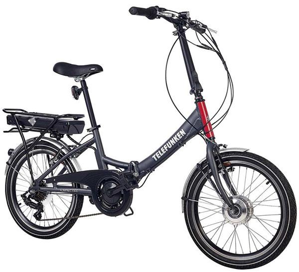 Faltrad E-Bike Telefunken F800 Kompakt