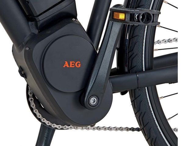 AEG Comfort Drive Mittelmotor
