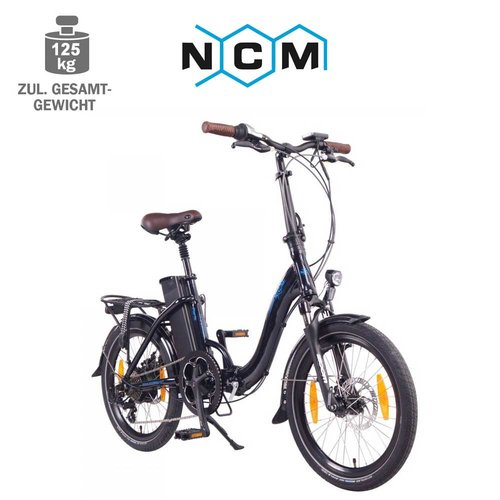 NCM Paris 20 E-Faltrad E-Bike 36V, 15Ah