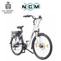 NCM Munich 26 Damen Alu-City E-Bike