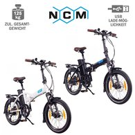 NCM London+ 20 Zoll E-Faltrad E-Bike 36V, 19Ah