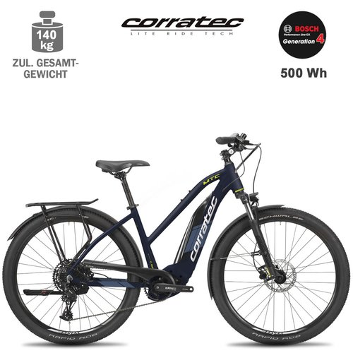 Corratec E-Power MTC CX5 Trapez E-MTB Bike