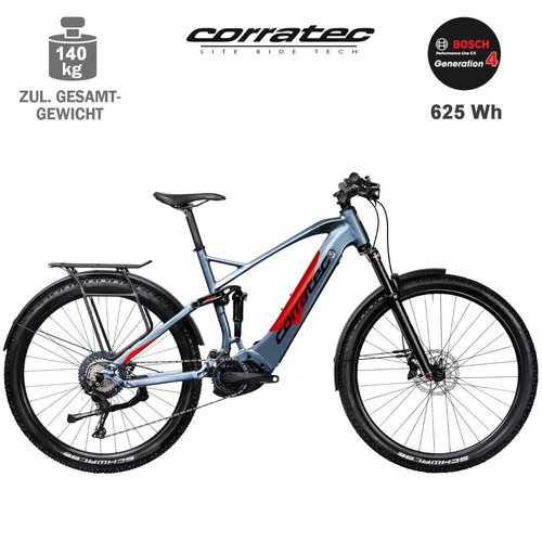 Corratec E-Power MTC-120 Elite 625Wh eMTB Fully 39cm