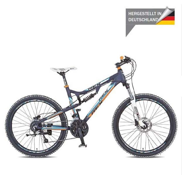 Mountainbike Rex Bergsteiger Fully