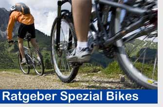 Ratgeber Lexikon Mountainbike, Crossbike & Faltrad